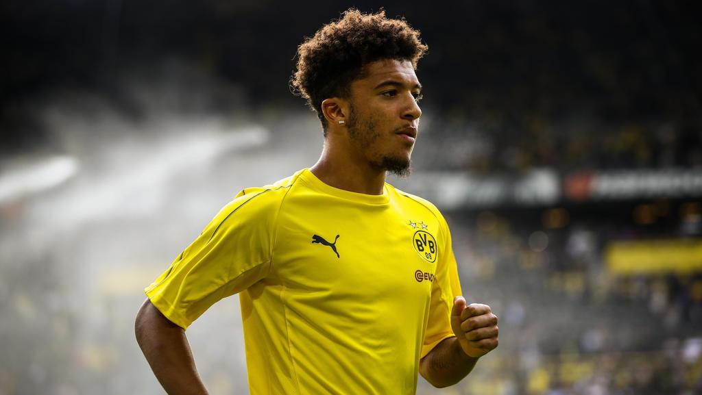 Jadon Sancho erlernte sein Handwerk in der Jugend von Manchester City