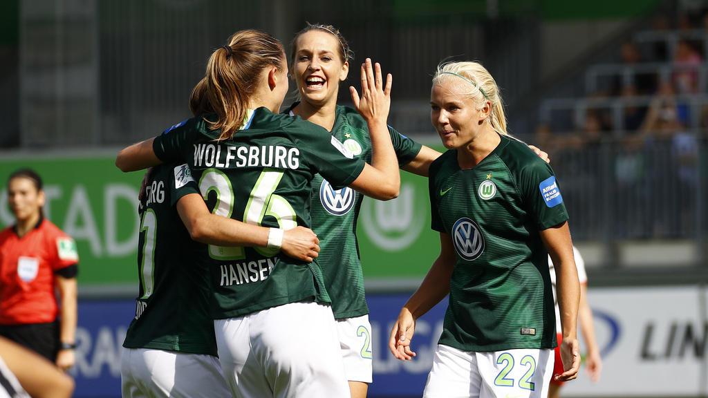 Der VfL Wolfsburg bleibt in der Bundesliga das Maß der Dinge