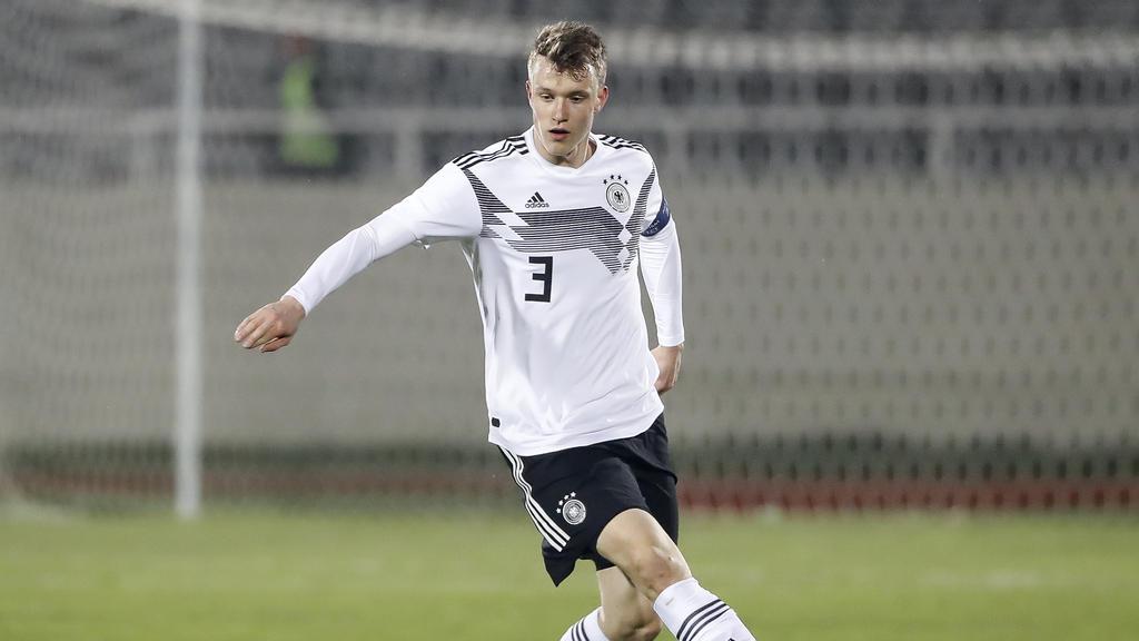 Lukas Klostermann ist aktuell Kapitän der U21-Nationalmannschaft