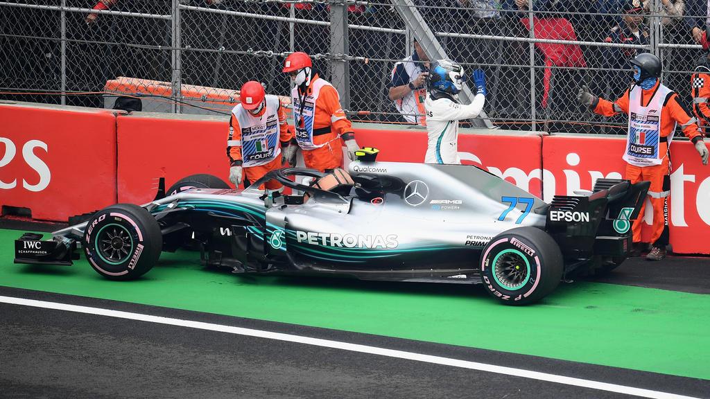 Valtteri Bottas war bei Mercedes in der zweiten Saisonhälfte meist Statist