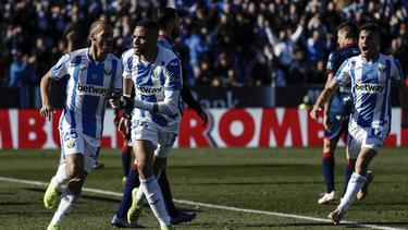 Youssef En-Nesyri festeja su gol en el minuto 74. (Foto: Imago)