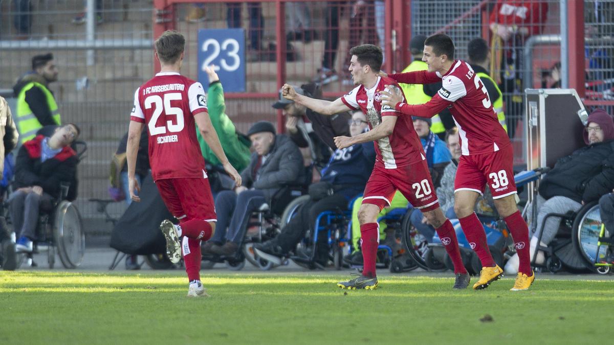 Heimsieg für den 1. FC Kaiserslautern