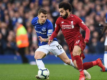 Salah y Cía. no encontraron un remedio contra la defensa del Everton. (Foto: Getty)