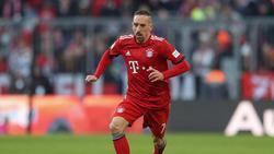 Franck Ribéry steht beim FC Bayern bis zum Sommer unter Vertrag