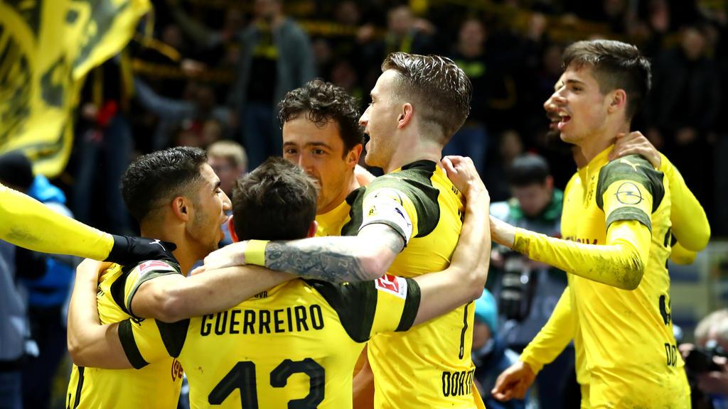 Bvb Gegen Hertha