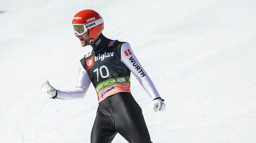 Markus Eisenbichler zeigte in Planica die Tagesbestweite