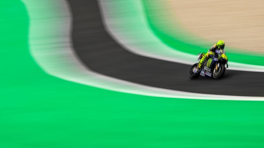 Valentino Rossi will beim Grand Prix in Barcelona angreifen