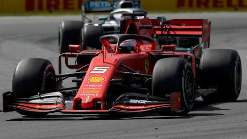 Der Abstand zwischen Ferrari und Mercedes ist nicht kleiner geworden