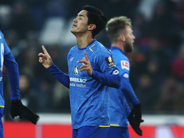 Yoshinori Muto con la camiseta del Mainz. (Foto: Getty)