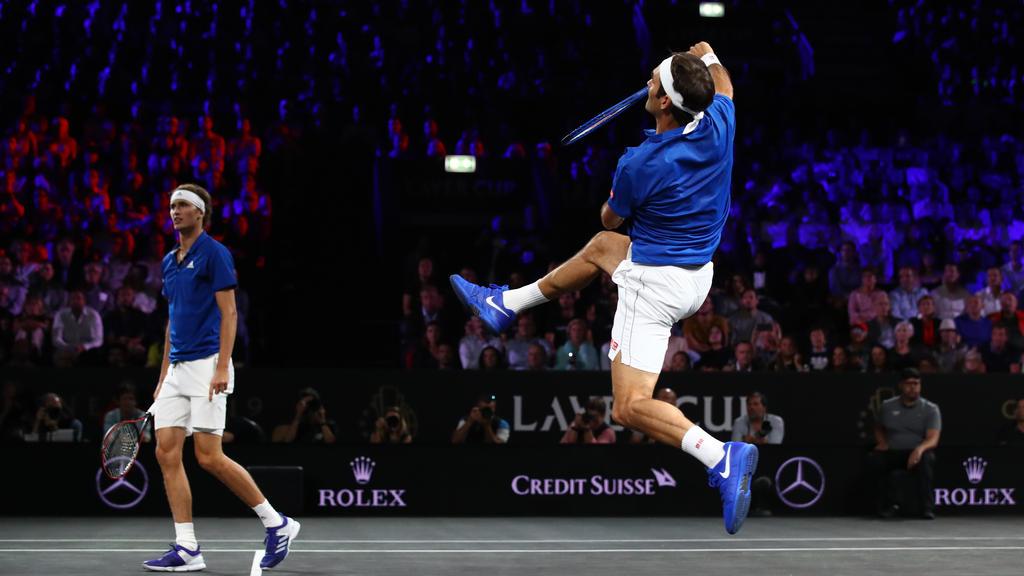 Zverev und Federer holten einen Punkt für Team Europa
