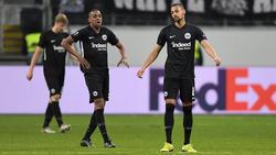 Bei Eintracht Frankfurt zeigt die Formkurve nach unten