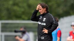 Oliver Zapel wurde bei Sonnenhof Großaspach entlassen