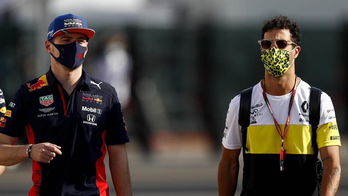 Daniel Ricciardo (re.) ist voll des Lobes über seinen ehemaligen Teamkollegen