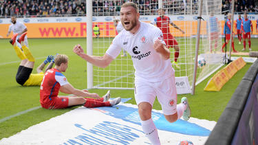 Der FC St. Pauli jubelte in Heidenheim
