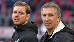 Frank Baumann (r.) stärkte seinem Cheftrainer den Rücken