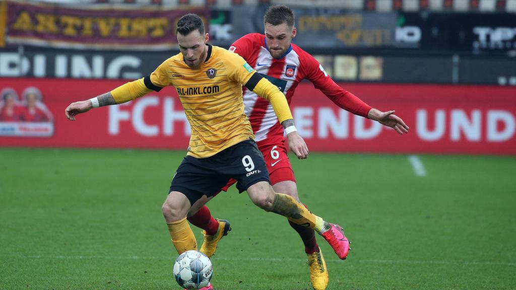 Dynamo Dresden und der 1. FC Heidenheim trennten sich torlos