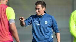Chefcoach beim KRC Genk: Hannes Wolf