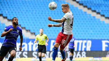 Der HSV und Arminia Bielefeld trennten sich 0:0