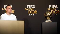 Gewann 2013 mit dem FC Bayern dasTriple: Franck Ribéry
