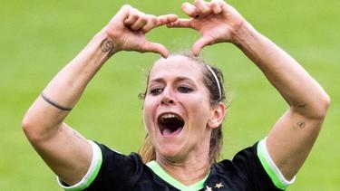 Anna Blässe hat mit Wolfsburg einiges vor