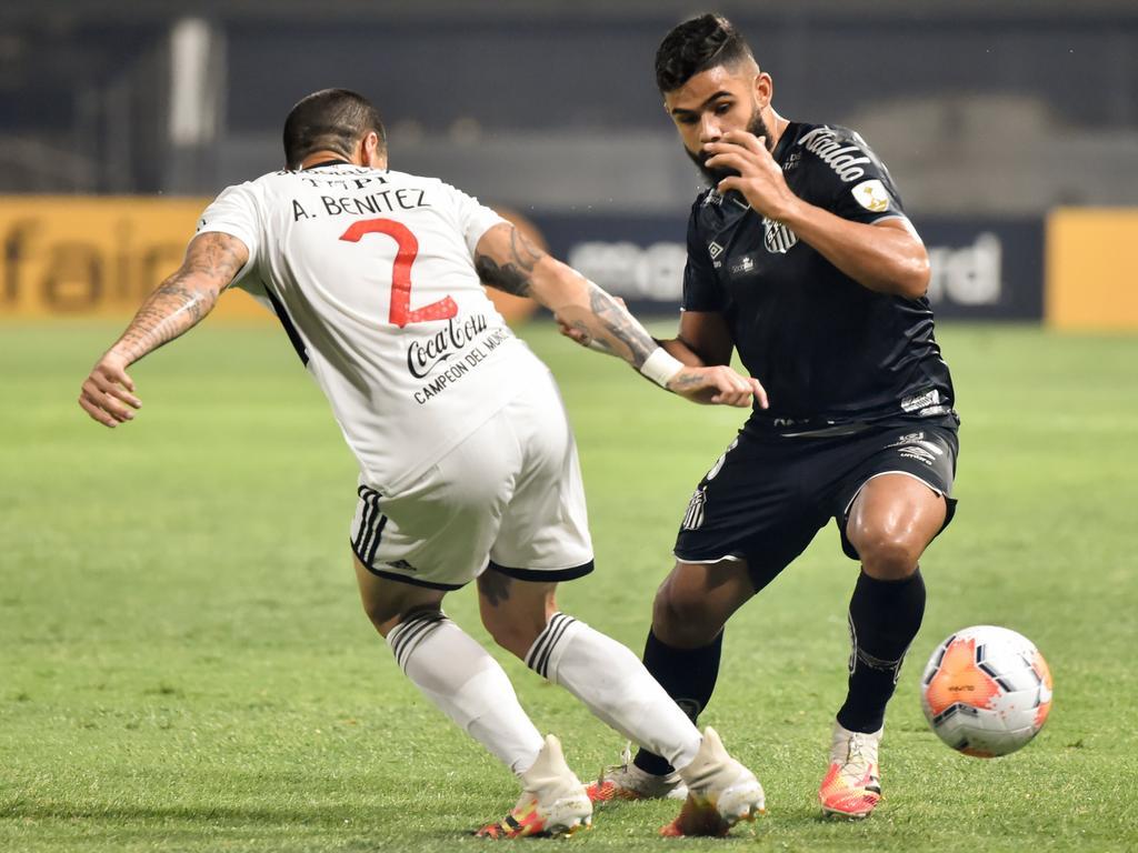 Santos ya está en la siguiente fase del campeonato.
