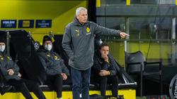 Lucien Favre feierte mit dem BVB einen Auswärtssieg bei Arminia Bielefeld