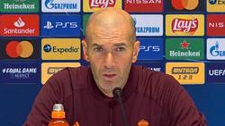 Trotz der schwacher Ergebnisse bleibt Zinédine Zidane Trainer von Real Madrid