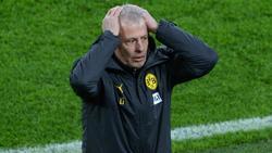 BVB-Trainer Lucien Favre quälen personelle Sorgen