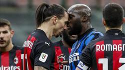 Zlatan Ibrahimovic und Romelu Lukaku gerieten unlängst aneinander