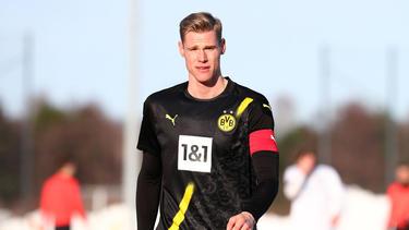 Steffen Tigges hat beim BVB bis 2024 unterschrieben
