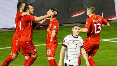 Nordmazedonien düpierte den viermaligen Weltmeister Deutschland