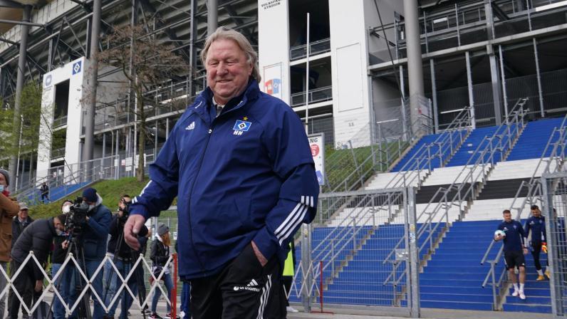 Horst Hrubesch soll mit dem HSV in die erste Liga zurückkehren