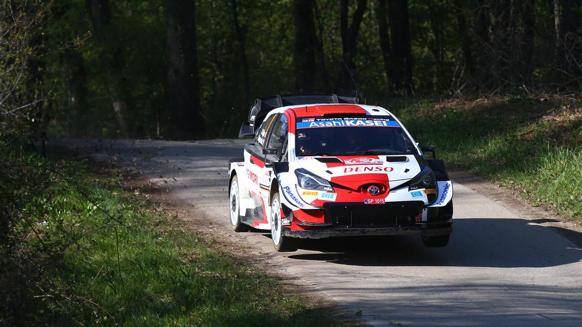 Sebastien Ogier führt die Rallye Kroatien an - allerdings nur knapp