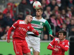 Düsseldorf lässt Chancen gegen Fürth aus