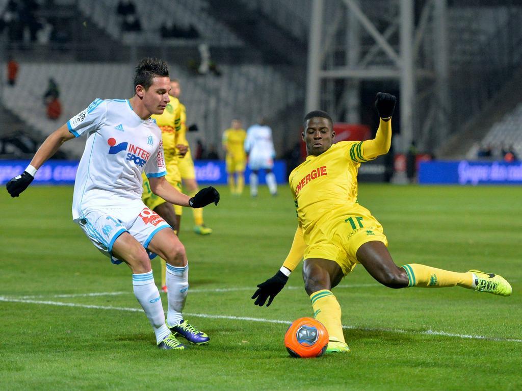 Die Spieler des FC Nantes müssen einen Punktabzug hinnehmen