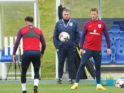 Alles im Blick: Sam Allardyce verfolgt jeden Schritt der englischen Nationalspieler