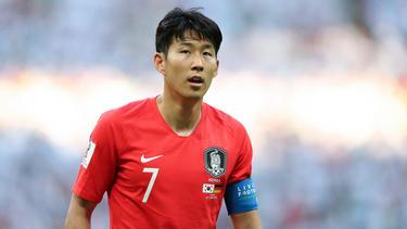 Heung-min Son steht unter Druck