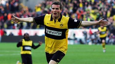 Alexander Frei schnürte gegen Schalke einen unvergessenen Doppelpack