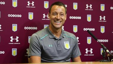 Ab sofort Assistenzcoach bei Aston Villa: John Terry