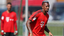 Jérôme Boateng sieg schon wieder ins Training ein