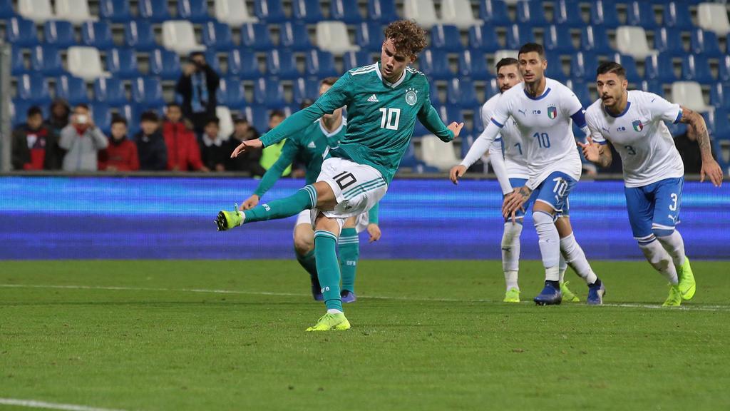Luca Waldschmidt zeigte eine starke Partie