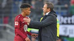 Steht in Mainz unter Druck: André Breitenreiter (r.)