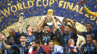 Große Ehre für die französische Fußball-Nationalmannschaft