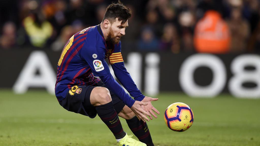 Lionel Messi erzielte zwei Tore gegen Valencia CF
