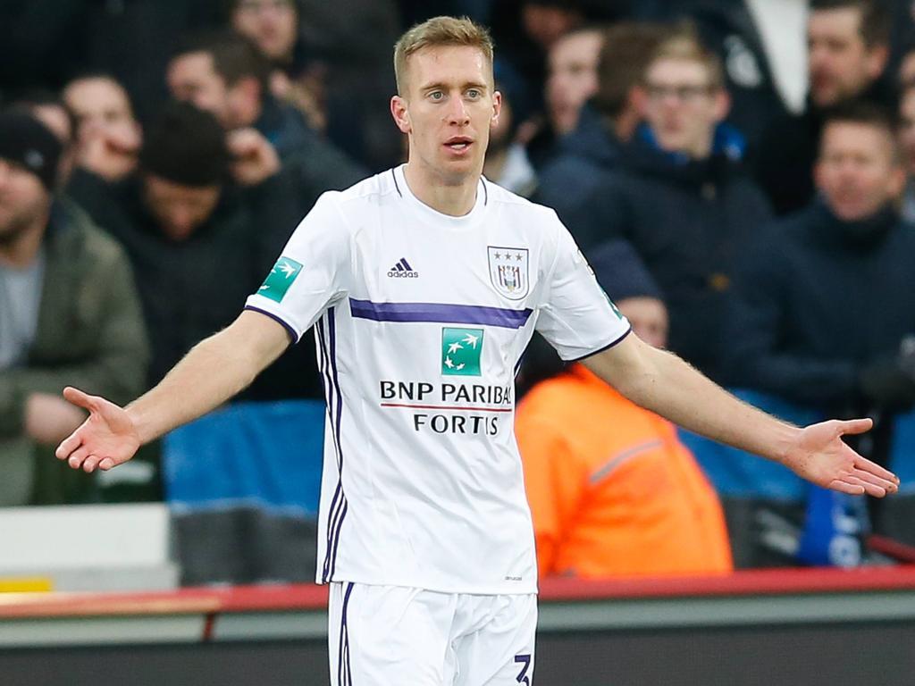 Robert Berić kam bei RSC Anderlecht zu keinem einzigen Torerfolg