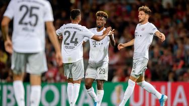Coman fue uno de los goleadores del Bayern en Cottbus.