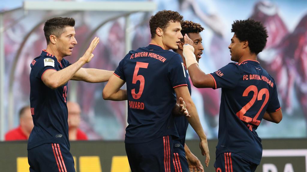 FC Bayern seit 18 Bundesliga-Spielen ungeschlagen