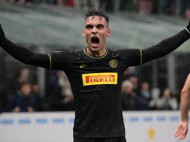 Lautaro anotó el único gol de los lombardos.