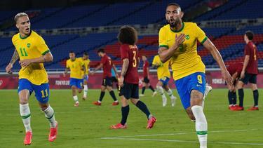 Brasilien setzte sich gegen Spanien durch