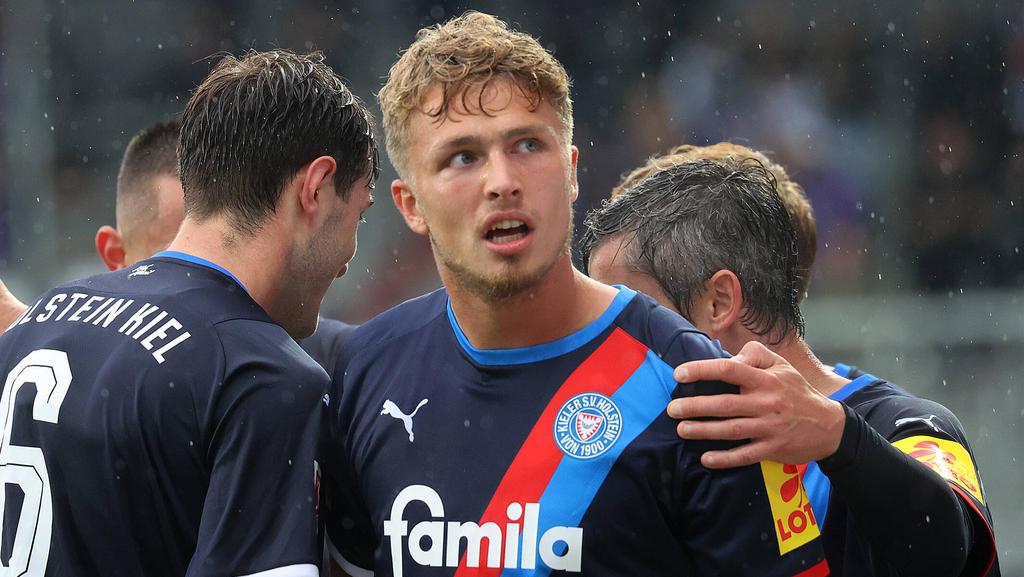 Fiete Arp wurde vom FC Bayern nach Kiel verliehen